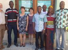 La délégation de Sangoulema